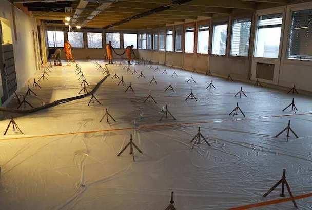 Pour les chantiers de Château Margüi et Michelin, Technisol a préparé un plan de coulage, permettant de limiter salissures et pollutions sonores. [©Technisol]