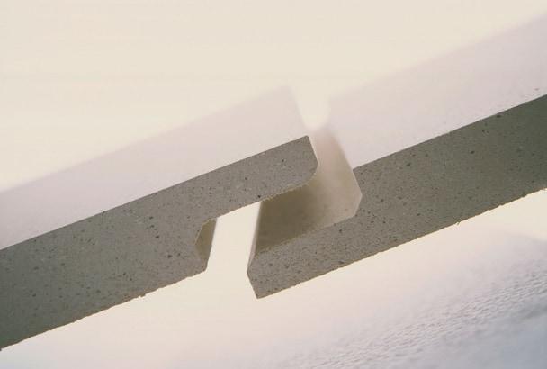 Les plaques Brio permettent de réaliser une chape sèche. [©Knauf]