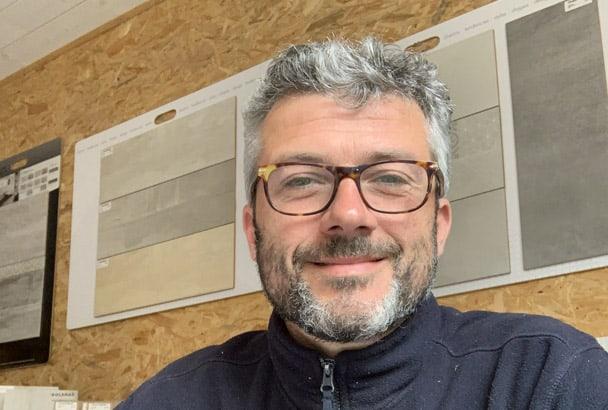 Sébastien Faitot a choisi de reprendre une entreprise de chape et de carrelage, Les Carreleurs Contemporains.