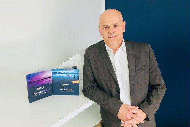 Didier Nycollin, chef de marché chape Technis de Bostik. [©Bostik]