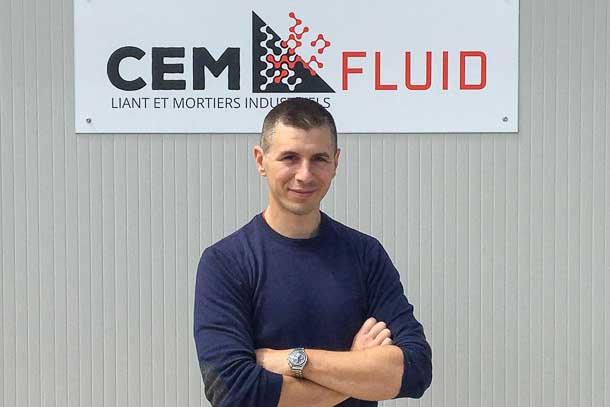 Vincent Jaume vient de reprendre Cemfluid. [©Cemfluid]