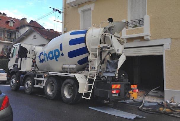 """Chap! réalise du """"livré-pompé""""."""