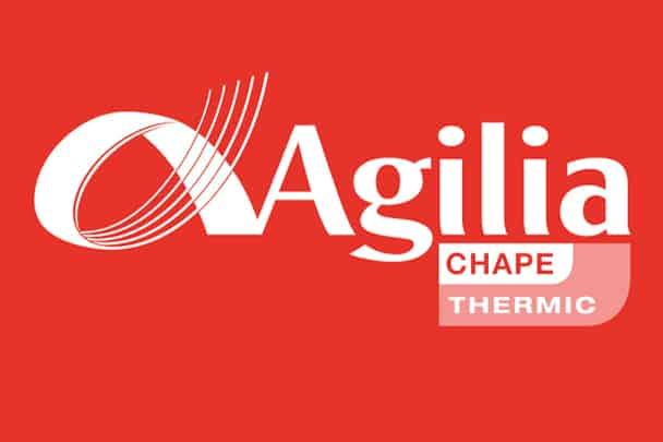 Logo d'Agilia Chapes de LafargeHolcim