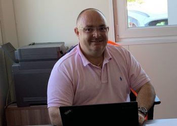 Christophe Deveyex est le responsable des bétons spéciaux et des chapes chez BBSF. [©BBSF]
