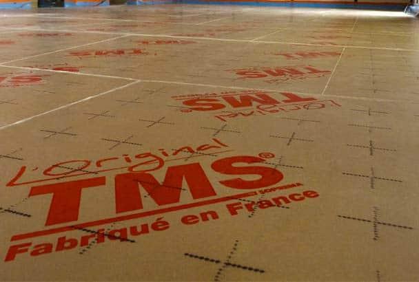 SOPREMA : TMS pour l'isolation thermique des sols sous chapes