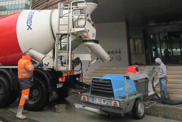 Anhydritec : Coulage express pour l'Excelio