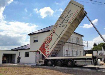 L'entreprise Chape Fluide du Littoral est désormais basée à Desvres-Samer. [©Chape Fluide du Littoral]