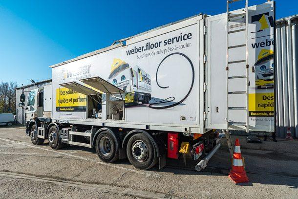 Le 3e Weber Truck vient d'être mis en service sur la région nantaise. [©ACPresse]