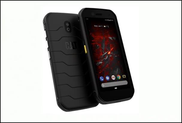Les smartphones Cat S32 sont destinés aux environnements les plus rudes. [©Cat]