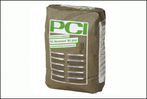 BASF PCI s'appuie sur mortier à durcissement rapide, le PCI Novoment M1. [©BASF PCI]