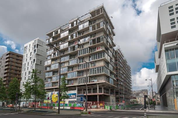 Imaginée par l'agence Lambert.Lenack, la résidence Kaléï propose 87 logements répartis en 2 bâtiments. [©ACPresse]