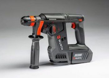 Le marteau-perforateur à batterie 18V ABH18 Compact fait partie de la gamme M-Cube de Würth. [©Würth]
