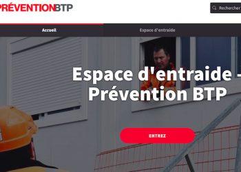 La plate-forme d'entraide de l'OPPBTP est consultable sur www.Entraide-COVID19.preventionBTP.fr [©DR]