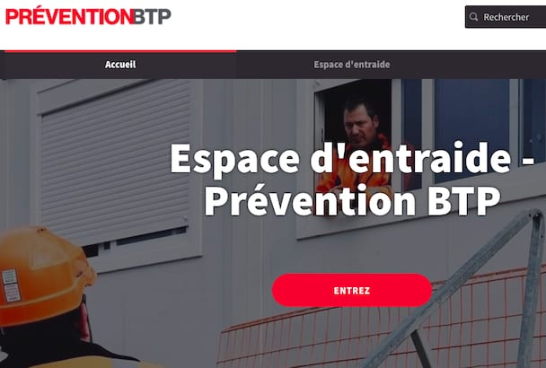 L'OPPBTP lance une plate-forme d'entraide