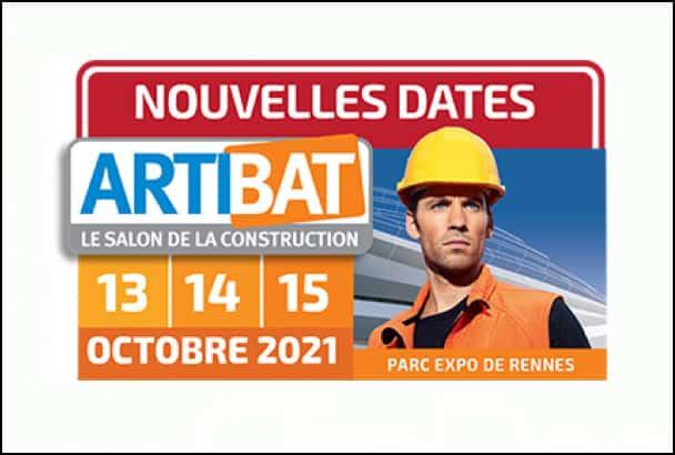 Le salon Artibat est reporté au mois d'octobre 2021. [©Artibat]