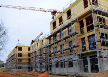 Dès 2014, une première grande opération de logements construits en bois massif à Ris-Orangis sous l'égide de Woodeum a initié un mouvement qui devrait s'amplifier dans les années à venir. [©JT]