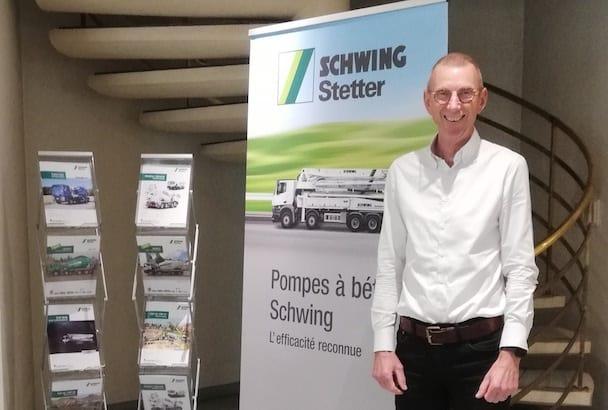 Francis Charrier est le directeur général de Schwing Stetter France. [©Schwing Stetter]