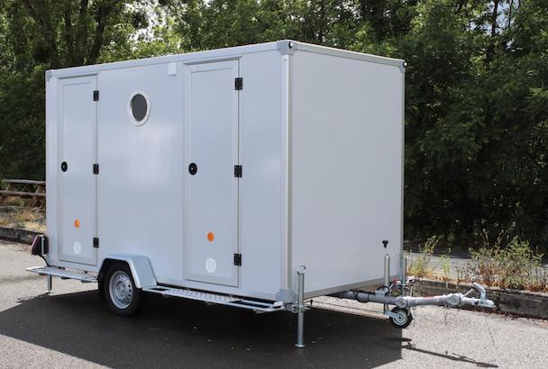 La roulotte Timkito est une base-vie mobile, confortable, fonctionnelle. [©Gruau]