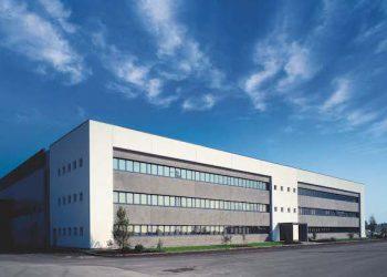 Le Centre de recherche de Fassa Bortolo, baptisé Fassa I-Lab, à Trévise en Italie. [©Fassa Bortolo]