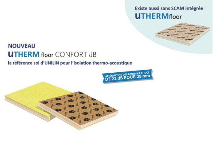 UNILIN : Utherm Floor CONFORT dB
