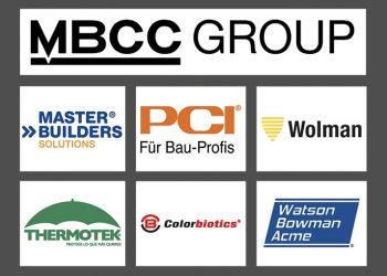 MBCC Group est le nouveau nom de l'ex-division BASF Construction Chemicals. Elle chapeaute de nombreuses marques présentes dans le secteur de la construction. [©MBCC Group]