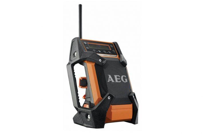 La nouvelle radio de chantier développée par AEG. [©AEG]