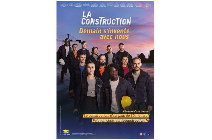 La filière veut susciter des vocations auprès des jeunes, futures forces vives de la construction. [©DR]