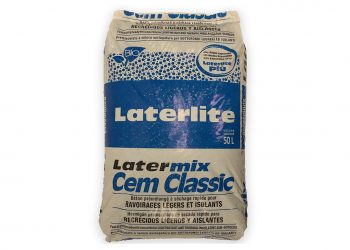 Pour les ravoirage, Laterlite propose le Latermix Cem Classic. [©Laterlite]