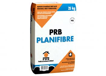 Le PRB Planifibre permet de réaliser des ragréages. [©PRB]