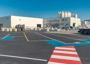 L'usine Saint-Gobain Weber de Sorgues. [©Saint-gobain Weber]