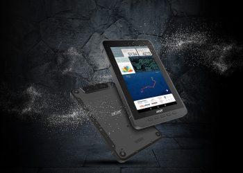 La tablette Enduro d'Acer est destinée aux chantiers [©Artis]
