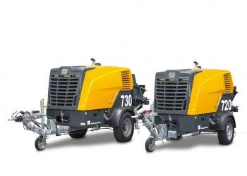 Les nouvelles P720 et P730 renouvellent la gamme des pompes compactes de Putzmeister. [©Putzmeister]