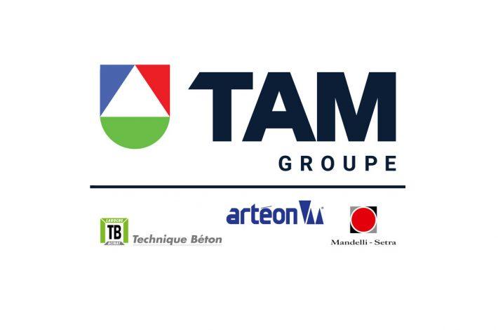 Tam Groupe réunit les marques Technique Béton, Artéon et Mandelli-Setra. [©DSI]