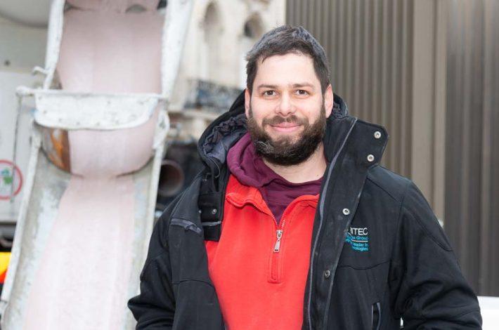 Igor Stankovic est le fondateur et le gérant de Chapes Experts [©ACPresse]