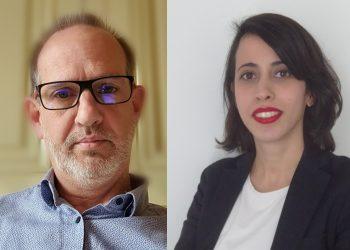 Michel De Beukelaer, est directeur du développement de l'Europe du Sud, Houda Bechraoui est responsable technique & certification France chez Iko Insulations. [©Iko]