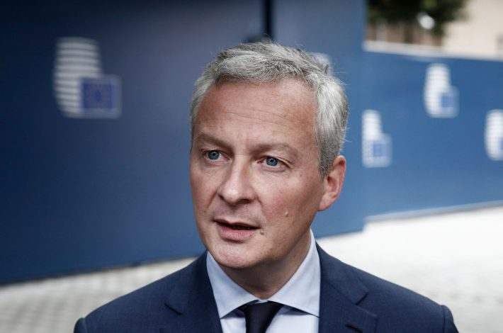 Le Ministre de l'économie, Bruno Le Maire a été interpellé par les principaux syndicats du BTP sue la question du GNR. [©DR]