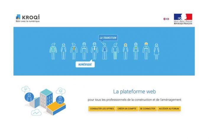 La plateforme Kroqi aide les TPE et PME dans leur transition numérique [©DR]