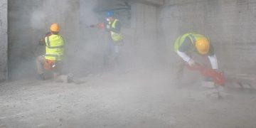 Le risque poussière n'est pas à prendre à la légère. [©Hilti]
