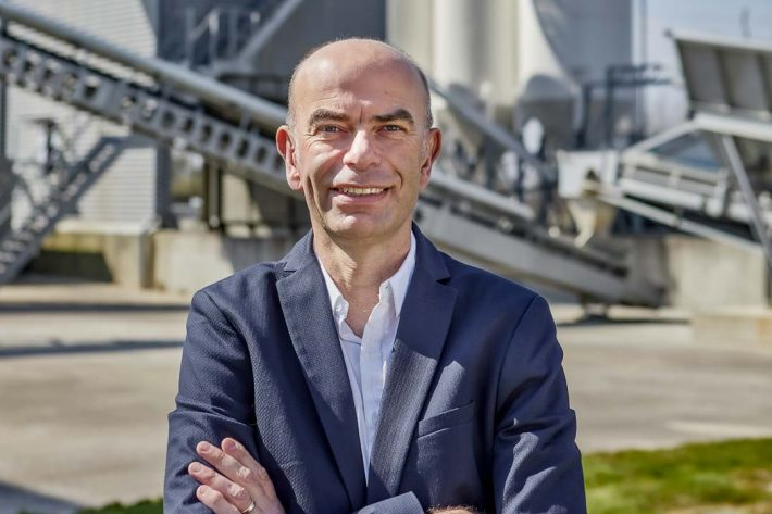 Olivier Collin est le nouveau directeur général d'Edycem, la filiale BPE et préfabrication du groupe vendéen Herige. [©Herige]