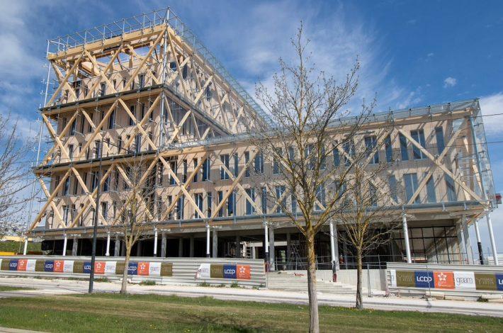 La construction bois gagne des parts de marché en France. [©DR]