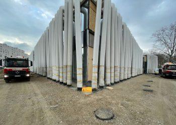 SEBM Martel Groupe a livré pour 1000 m2 de chape Sika Viscochape Force. [©Sika]