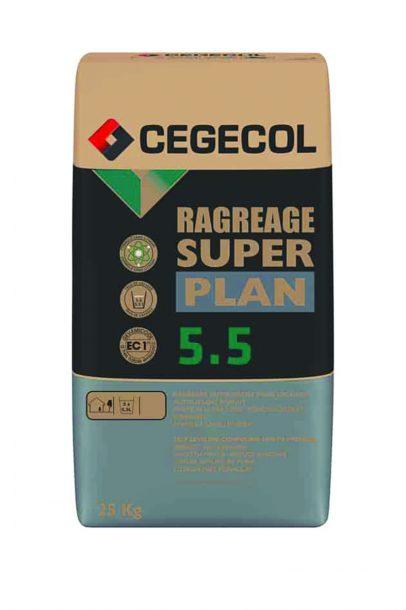 Le Super Plan 5.5 de Cegecol permet de réaliser les ragréages. [©Sika]