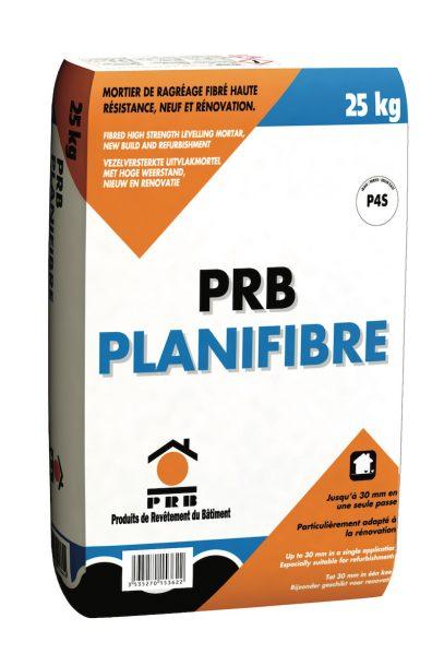 Pour les ragréages, PRB propose Planifibre, un mortier de ragréage fibré. [©PRB]