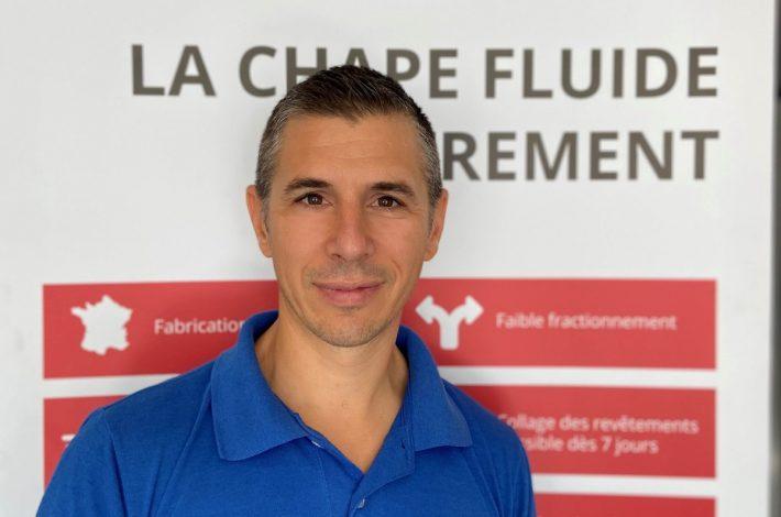 Vincent Jaume est le PDG de Cemfluid. [©Cemfluid]