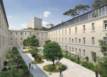 La Cour des Doms a été rénové par Technisol [©Technisol]